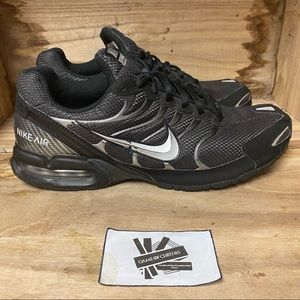 Nike torch 4 black silver running sneakers shoes
